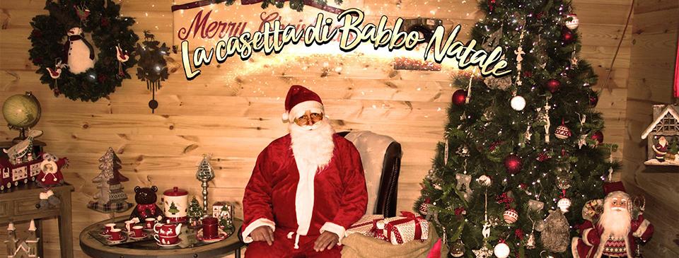 La casetta di Babbo Natale da Gitto Garden