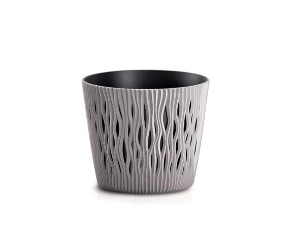 Vaso Sandy C/inserto D13cm Sabbia