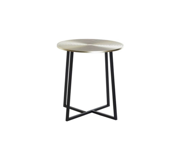 Tavolino Small Metallo Dorato