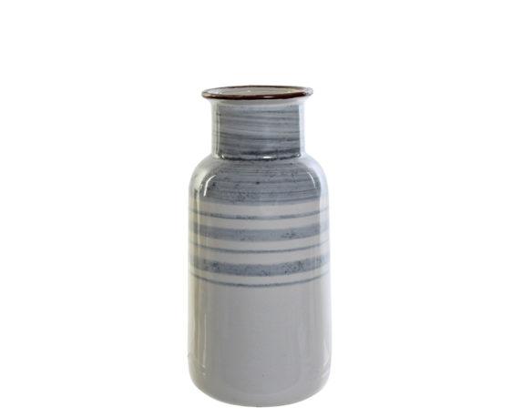Vaso Bicolore Gres Porcellana