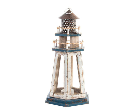 Lanterna Faro Legno